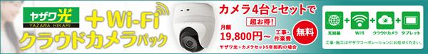 ヤザワ光+Wi-Fi クラウドカメラパック