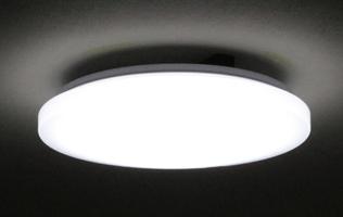 リモコン操作で10段階の調光が可能